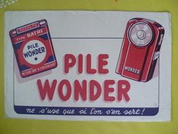 Buvard   Pile WONDER - Blotters