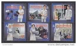 Alderney 2001 Health Services 6v ** Mnh (4116I) - Alderney