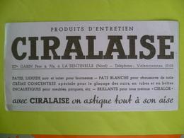Buvard   Produits D'entretien CIRALAISE - Blotters