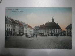 Pologne. Krosno Odrzańskie / Crossen A. Oder. Marktplatz Mit Rathaus (4858) - Polen