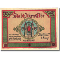 Billet, Allemagne, Aken, 75 Pfennig, Mairie, 1921, SUP, Mehl:8.1 - Germany