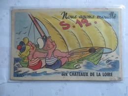 CPA CARTE A SYSTEME 37 CHATEAUX DE LA LOIRE - Other Municipalities