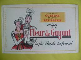 Buvard   FLEUR DE GAYANT  La Plus Blanche Des Farines - Blotters