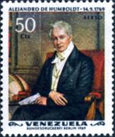 Ref. 176902 * NEW *  - VENEZUELA . 1969. 200 ANIVERSARIO DEL NACIMIENTO DEL EXPLORADOR ALEMAN ALEXANDER HUMBOLDT - Venezuela