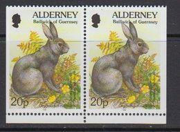Alderney 1998 Fauna 2v From Booklet   ** Mnh (41316K) - Alderney