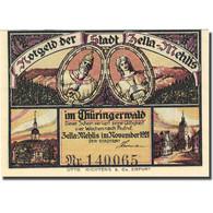 Billet, Allemagne, Zella-Mehlis, 50 Pfennig, Personnage1 1921, SPL, Mehl:1468.1 - Germany
