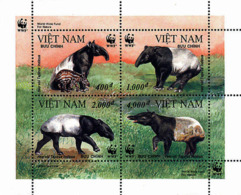 Ref. 7254 * NEW *  - VIET NAM . 1995. ASIATIC TAPIR. TAPIR ASIATICO - Vietnam