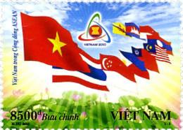Ref. 261831 * NEW *  - VIET NAM . 2010. VIETNAM EN LA ASOCIACION DE NACIONES DE ASIA DEL SUDESTE - Vietnam