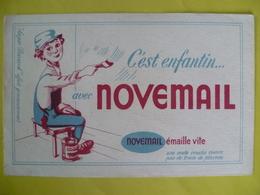 Buvard   NOVEMAIL C'est Enfantin émaille Vite - Blotters