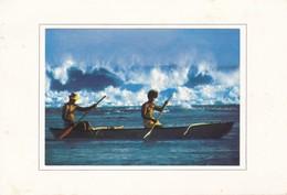 Polynésie Française Carte De Bonne Année - Polynésie Française