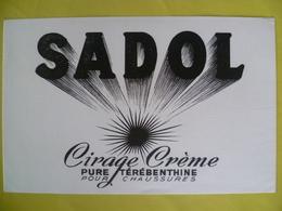 Buvard   SADOL Cirage Crème - Blotters