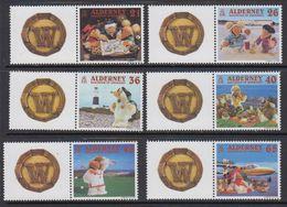 Alderney 2000 A Wombling Holiday 6v + Labels ** Mnh (41316M) - Alderney