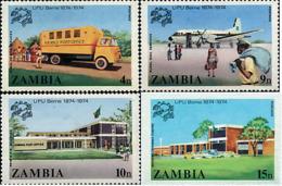 Ref. 39971 * NEW *  - ZAMBIA . 1974. CENTENARY OF UNIVERSAL POSTAL UNION. CENTENARIO DE LA UNION POSTAL UNIVERSAL - Zambia (1965-...)