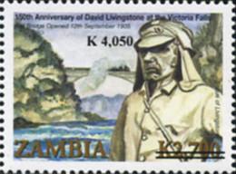 Ref. 368599 * NEW *  - ZAMBIA . 2006. 150 ANIVERSARIO DE LA LLEGADA DE DAVID LIVINGSTONE - Zambia (1965-...)
