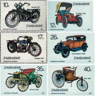 Ref. 46214 * NEW *  - ZIMBABWE . 1986. CENTENARY OF THE MOTOR VEHICLES. CENTENARIO DE LOS VEHICULOS A MOTOR - Zimbabwe (1980-...)