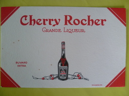 Buvard   CHERRY ROCHER Grande Liqueur - Blotters