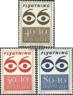 Denmark 445-447 (complete.issue.) Unmounted Mint / Never Hinged 1966 Refugee - Denmark