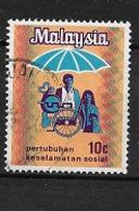 MALAYSIA  1973 Social Security Organization  USED - Maleisië (1964-...)