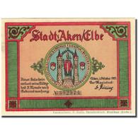 Billet, Allemagne, Aken, 25 Pfennig, Château, 1921, SPL, Mehl:8.1 - Germany