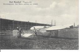 "Mondorf-les-Bains - Bad Mondorf ""Luxembourg""- Flugwoche - Blériotapparat. Der Motor Arbeitet Zur Abfahrt -Circulé-2scans - Mondorf-les-Bains"