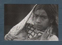 Carte Moderne Maya Chiapas Mexico  Mère Et Enfant - Amérique