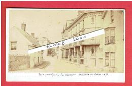 PHOTOGRAPHIE SEATON 1871 MAIN STREET PHOTOGRAPHE BARRET AND COMPAGNIE SOUTH STREET BRIDPORT  PHOTOGRAPHER - Lieux