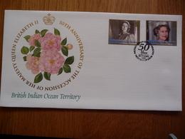 (D) BRITISH INDIAN  OCEAN TERRITORY 2002 50th ANNIVERSARY OF THE ACCESSOIN OF HER MAJESTY QUEEN ELIZABETH II - Territoire Britannique De L'Océan Indien