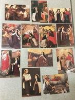 12 Kunstkaarten. Leven: Teresia Van Avila.  N° 1/12 - Saints