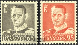 Denmark 349-350 (complete Issue) Unmounted Mint / Never Hinged 1953 King Frederik IX. - Dänemark