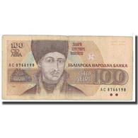 Billet, Bulgarie, 100 Leva, 1991, KM:102a, TB - Bulgarie