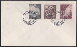 Triest B, 1952, Marine Day, FDC - Poststempel
