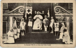 PIE XI Au Milieu Des Petits Croises - Vatikanstadt