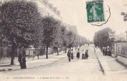 CONTREXEVILLE - L'Avenue De La Gare - Vittel Contrexeville