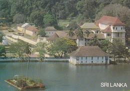 Postcard Sri Lanka The Temple Of The Tooth Relic Kandy Sacred Buddhist Temple My Ref  B23176 - Sri Lanka (Ceylon)