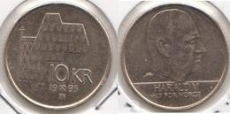 Norvegia 1 Krone 1995 KM#457 - Used - Norvegia