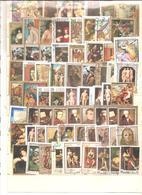 VRAC MONDE (hors France) + De 400 Timbres Oblitérés Grands Formats - 007 - Stamps