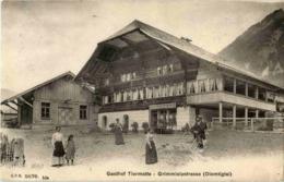 Grimmialpstrasse Diemtigtal - GAsthof Tiermatte - BE Bern