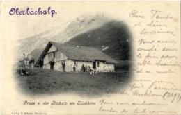 Gruss Von Der Oberbachalp Am Stockhorn - BE Berne