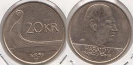 Norvegia 20 Kroner 1995 Km#453 - Used - Norvège