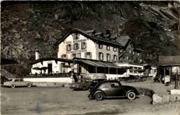Sustenstrasse - Hotel Steingletscher - VW Käfer - BE Bern