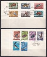Triest B, 1954, Fauna, FDC - Poststempel