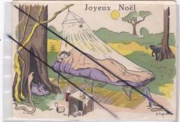 Humour Camping En Brousse: Joyeux Noël..(signé P.huguet) - Humour