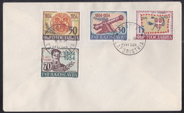 Triest B, 1954, Uprise In Serbia, FDC - Poststempel