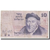 Billet, Israel, 10 Lirot, 1973, KM:39a, B - Israel