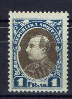 ALBANIE - 1925 - N° 176 A - Non Emis - Neuf Trace Légère - TB - Cote : 16.50 € - Albanien