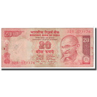 Billet, Inde, 20 Rupees, 2002, KM:89Ab, B - Inde