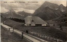 Diemtigtal - Grimmialpstrasse - BE Berne