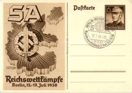 SA Reichswettkämpfe Berlin 1938 - War 1939-45
