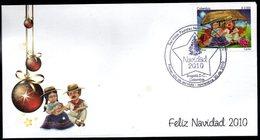 COLOMBIA- KOLUMBIEN- 2010 FDC/SPD. CHRISTMAS  /  NAVIDAD - Colombie