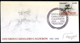 COLOMBIA- KOLUMBIEN- 2010 FDC/SPD. EDUARDO CABALLERO CALDERON - Colombie